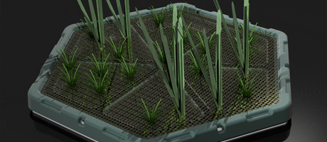 HYDROPONICS Floating Pontoon