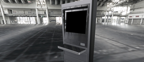 ADA Internet LCD Kiosk outdoors and indoors